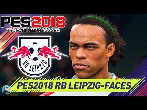Pro Evolution Soccer 2018 RB Leipzig Faces