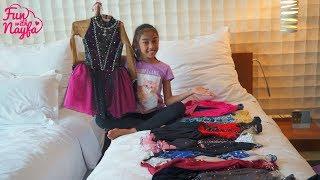 Koleksi Baju Ice Skating Nayfa + Room Tour Hotel #NayfaOnIce