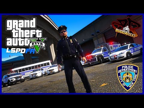 """🔴""""Blue Bloods""""◆NYPD LSPDFR Police Patrol◆Real Life NYPD Police Mods for GTA 5#BuddaNation"""