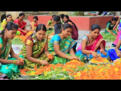 Vishwa digital bathukamma song 2017
