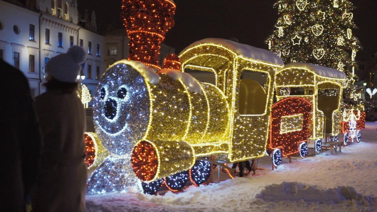 Zima na Rynku w Rzeszowie