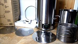 Robobrew Brewzilla 65L HomeBrew Machine by KegLand **Unboxing** with PubShedsTV - first impressions!