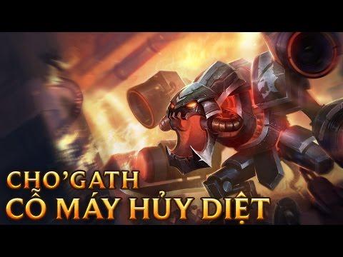 Cho'Gath Cỗ Máy Hủy Diệt - Battlecast Prime Cho'gath - Skins lol