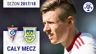Górnik Zabrze - Arka Gdynia [1. połowa] sezon 2017/18 kolejka 05