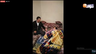 مباشر من مراكش : شابة زوجاتها عائلتها ورجعها زوج ديالها مشلولة بعد شهر العسل شوفو آش واقع