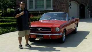 1965 Ford Mustang Convertible Classic Muscle Car for Sale in MI Vanguard Motor Sales