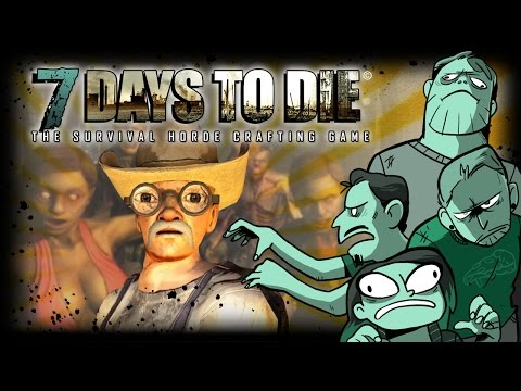7 Days to Die - Finale - Horde Night! (4 Player Gameplay)
