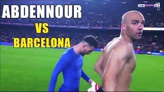 Aymen Abdennour vs Barcelona (away) 20-03-2017 - كل ما فعله أيمن عبد النور امام برشلونة