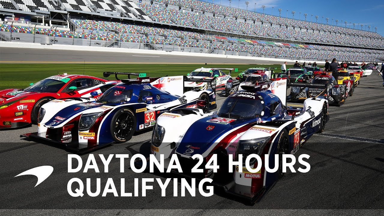 2018 Daytona 24 Hours Qualifying