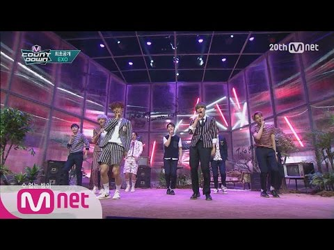 EXO - ′LOVE ME RIGHT′ M COUNTDOWN 150604 COMEBACK Stage Ep.427