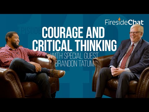 Fireside Chat Ep. 143 — Courage and Critical Thinking With Special Guest Brandon Tatum