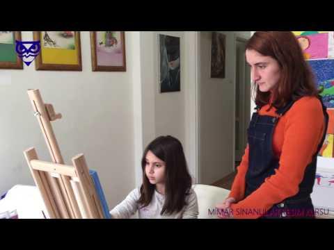 Çocuklar için Resim Dersleri 20 / Mimar Sinanlılar Resim Kursu