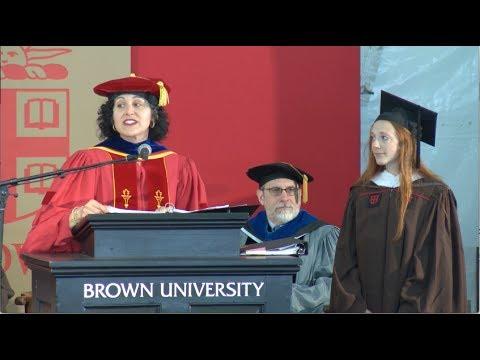 Brown University Graduate School Master's Ceremony