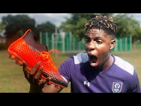 These Football Boots are OVERPOWERED.. Play Like Sergio Aguero