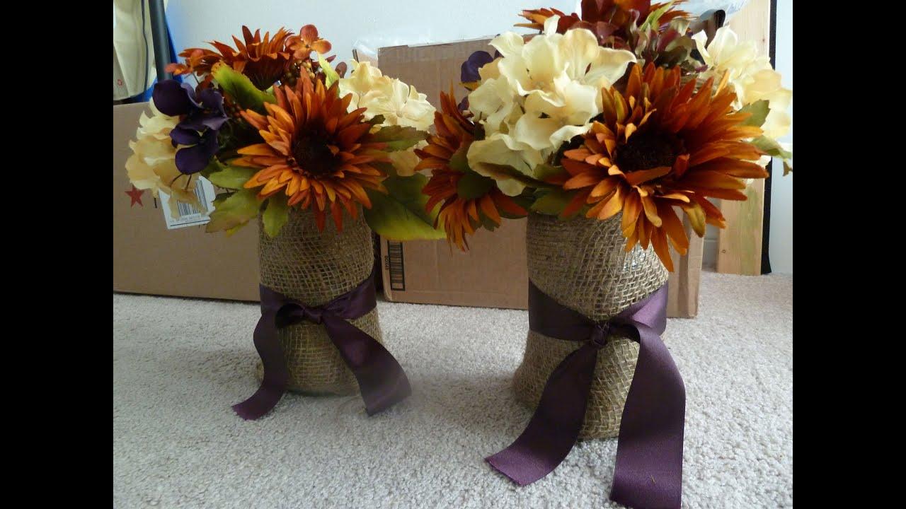 Rustic Flower Arrangements For Weddings