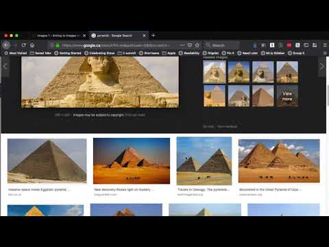 Inserting Images From Google Image Search Into HTML