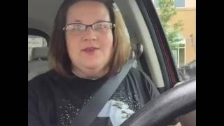 Woman and her talking star wars chewbacca mask is funny.