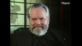 Orson Welles interview on The Magnificent Ambersons and It39;s All True