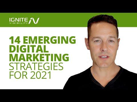 14 Emerging Digital Marketing Strategies + Trends For 2021