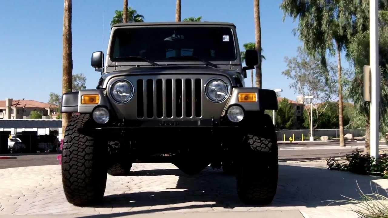 2005 jeep wrangler lj hardtop for sale - 2003 Jeep Wrangler Rubicon 30k Miles For Sale 5spd Hard Top Lund Cadillac Phoenix Az 85022 Youtube