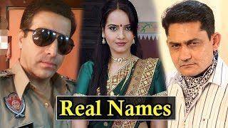 Crime Patrol Cast With Real Names ! 2017