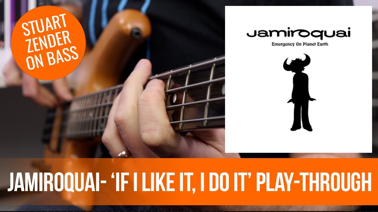 Jamiroquai - 'If I Like It, I Do It' Bass Cover (Stuart Zender on bass)