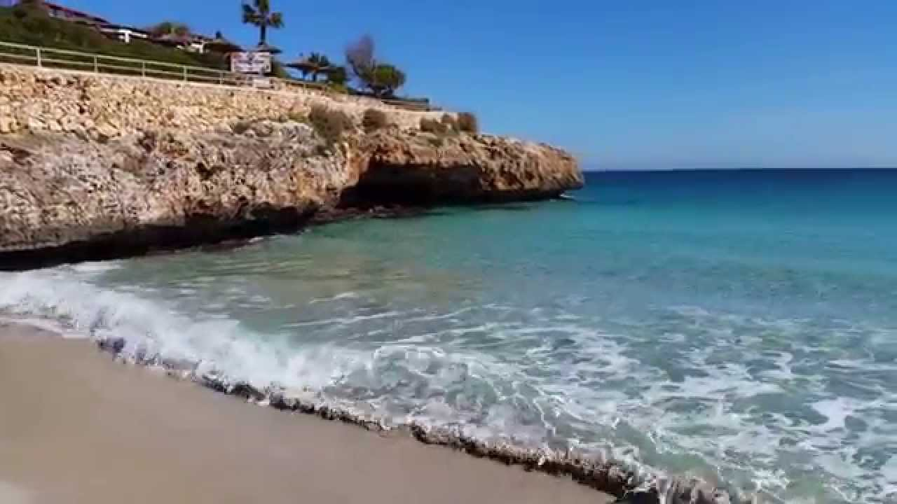 Cala domingos beach, Calas de Mallorca 2015 - YouTube
