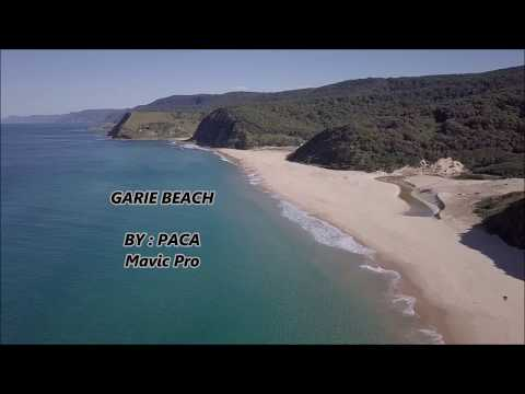 Garie beach / Royal National Park by drone