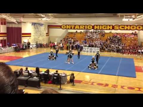 Foothill christian school cheer comp 2013