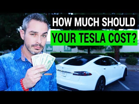 How Much Should Your Tesla Cost?