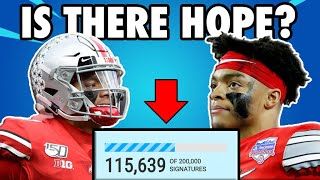 Justin Fields is trying to SAVE COLLEGE FOOTBALL