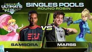 Samsora vs Marss - Singles Pools: Round Robin - Ultimate Summit 2 | Peach vs ZSS