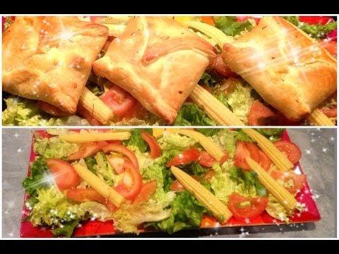 ♡-feuilletée-aux-légumes/-viande-hachée/-vermicelle-chinoise-et-fromage.