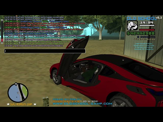 [OS] Old-School RolePlay - Sistem magacina za bande i mafije