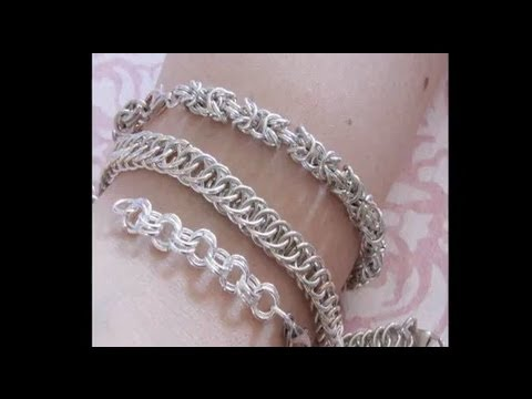 Silver Bracelets (chainmail)