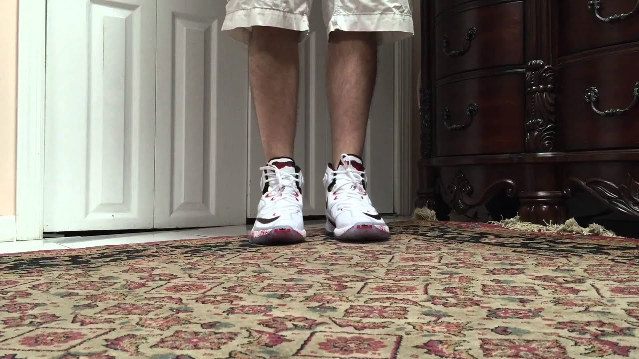 ec89920153153 Nike Lebron 13 XIII Horror Flick Friday The 13th On Foot - YouTube