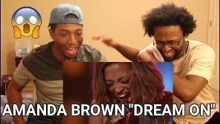 Amanda Brown - Dream On (The Voice) (REACTION)