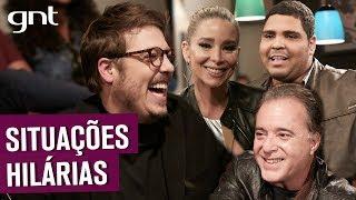 Tony Ramos, Dani Winits e Paulo Vieira contam situações com a família| Que História É Essa, Porchat?