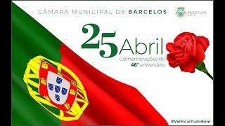 Comemorações do 46.º aniversário do 25 de Abril