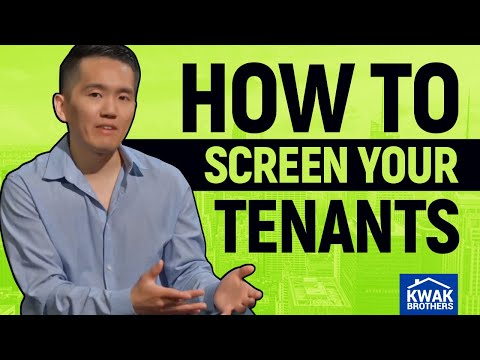 Avoid DISASTER Tenants And Evictions: Our Tenant Screening Process