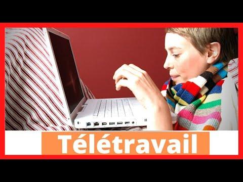 5 CONSEILS POUR REUSSIR SON TELETRAVAIL (DEBUTANT)✅