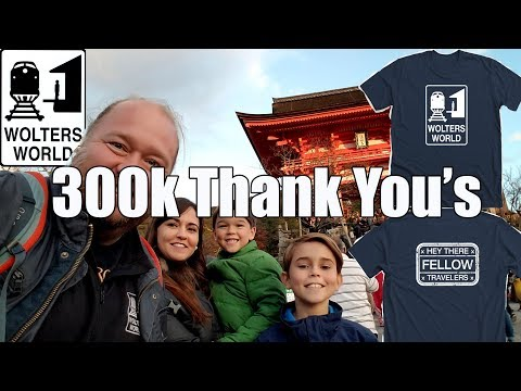 300,000 Thank You's & Wolters World T-Shirts for You Travelers