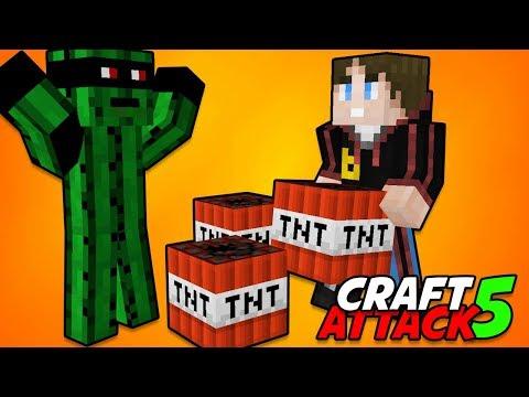 Ich sprenge die Revolution 💥 Craft Attack 5 #37 Minecraft Deutsch 💥 baastiZockt