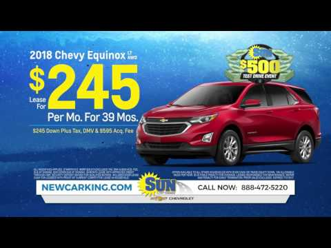 Chevy Equinox For $245/month AND $500 Test Drive