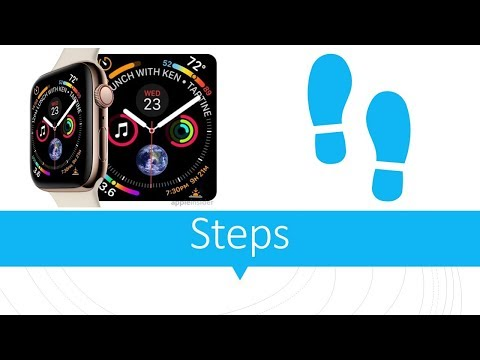 Apple Watch: How to find step count