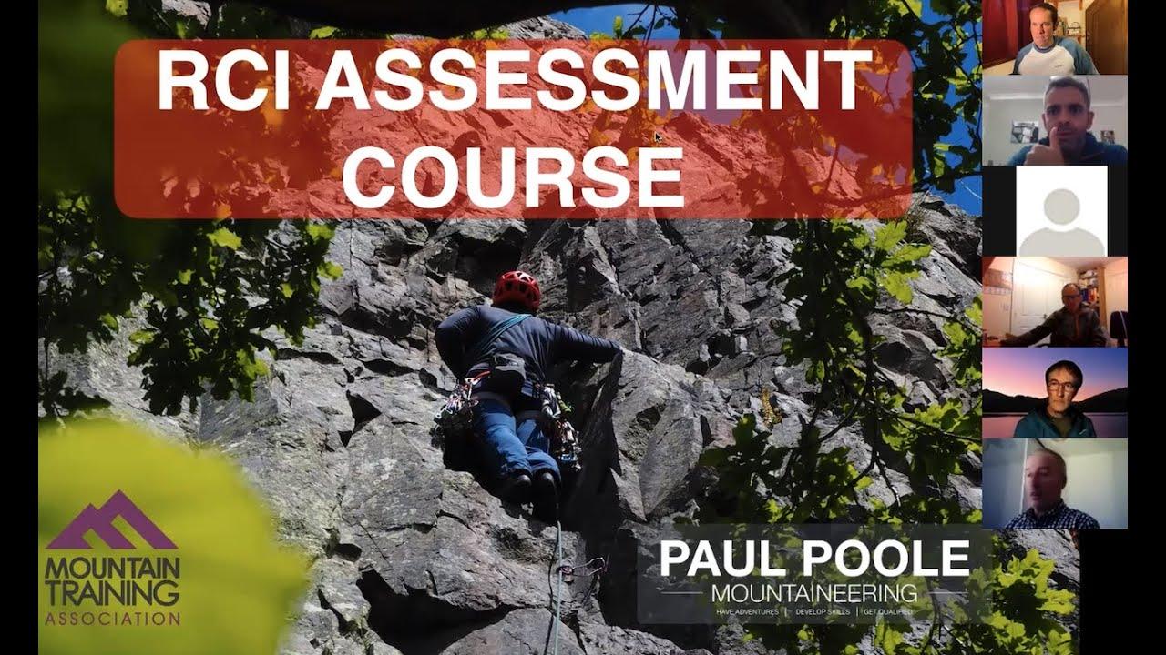 Chatting about the Rock Climbing Assessment (Webinar)