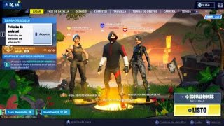 First win with *Skin IKONIK*+ playing with *Shark Clan ESP* Fortnite Battle Royal