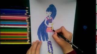 💙 Winx Musa Çizimi / How to Draw Winx Musa 💙