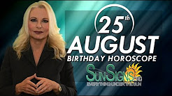 Birthday August 25th Horoscope Personality Zodiac Sign Virgo Astrology