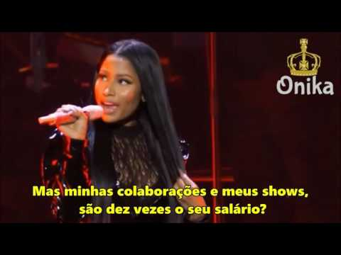 Nicki Minaj - Monster (LIVE) [Legendado/PT/BR]